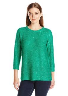 Anne Klein Women's Sequin Sweater