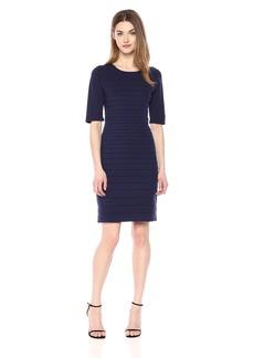 Anne Klein Women's Short Sleeve Sweater Dress  S