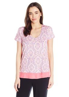 Anne Klein Women's Short Sleeve Top