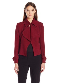 Anne Klein Women's Short Trench Jacket