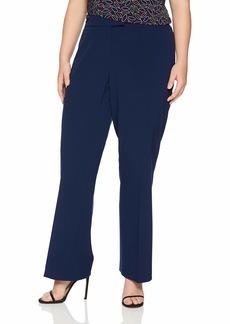 Anne Klein Women's Size Plus Flare Leg Pant