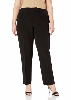 Anne Klein Women's Size Plus Slim Pant