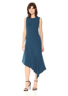 Anne Klein Women's Sleeveless Asymmetrical Hem Dress