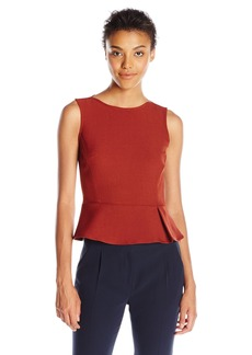 Anne Klein Women's Sleeveless Peplum Blouse