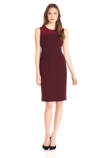 Anne Klein Women's Sleeveless Sheath Dress