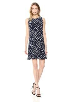 Anne Klein Women's Sleeveless Swing Dress  M