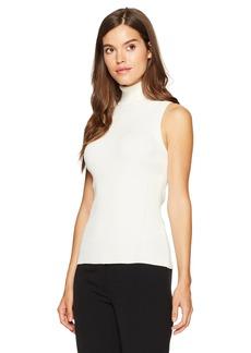 Anne Klein Women's Sleeveless Turtleneck Sweater  XL