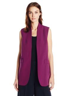 Anne Klein Women's Sleevless Long Vest
