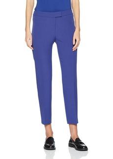 Anne Klein Women's Slim Bowie Pant-Blue o'keefe Blue