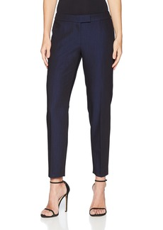 Anne Klein Women's Soft Denim Bowie Pant Black/Okeefe Blue