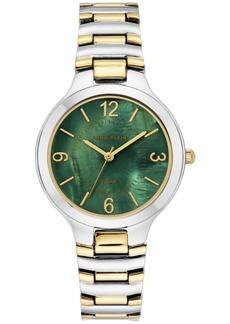 Anne Klein Women's Solar Two-Tone Bracelet Watch 32.5mm