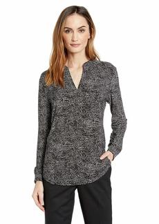 Anne Klein Women's Split Neck Tunic  XL
