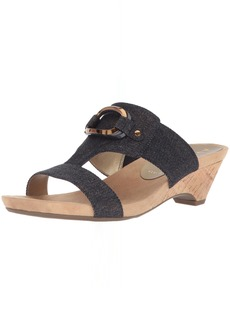 Anne Klein Women's Teela Wedge Sandal