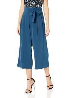 Anne Klein Women's TIE Front Culotte Pant  L