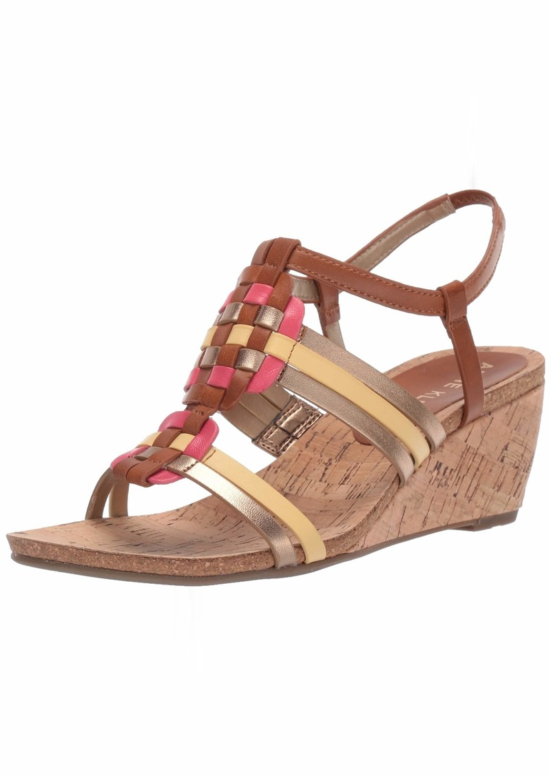 Anne Klein Women's Tilly Wedge Sandal   M US