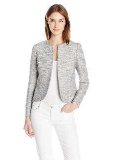 Anne Klein Women's Tweed Tulip Jacket