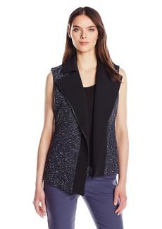 Anne Klein Women's Tweed Vest