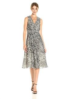 Anne Klein Women's Vneck Midi Dress