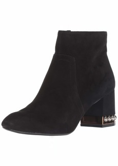 Anne Klein Women's Walena Studded Bootie Ankle Boot