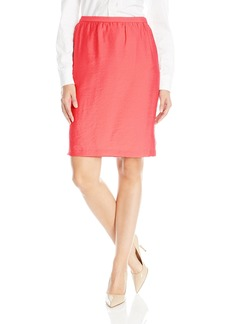 Anne Klein Women's Washed Duppioni Skirt  Up