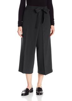 Anne Klein Women's Wide Leg Tie Front Pant