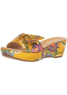 Anne Klein Women's Zandal Wedge Sandal Slide   Medium US