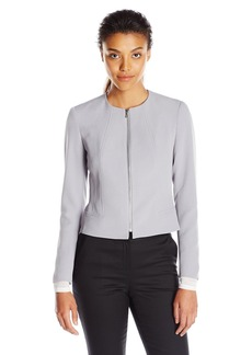 Anne Klein Women's Zipper Front Jacket