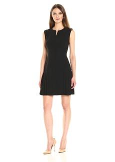 Anne Klein Women's Zipper Front Tennis Dress
