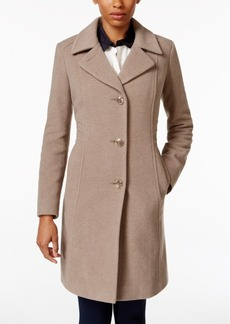 Anne Klein Wool-Cashmere-Blend Walker Coat, Only At Macy's