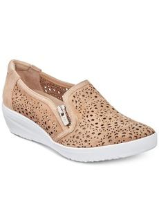 Anne Klein Yvette Perforated Slip-On Sneakers