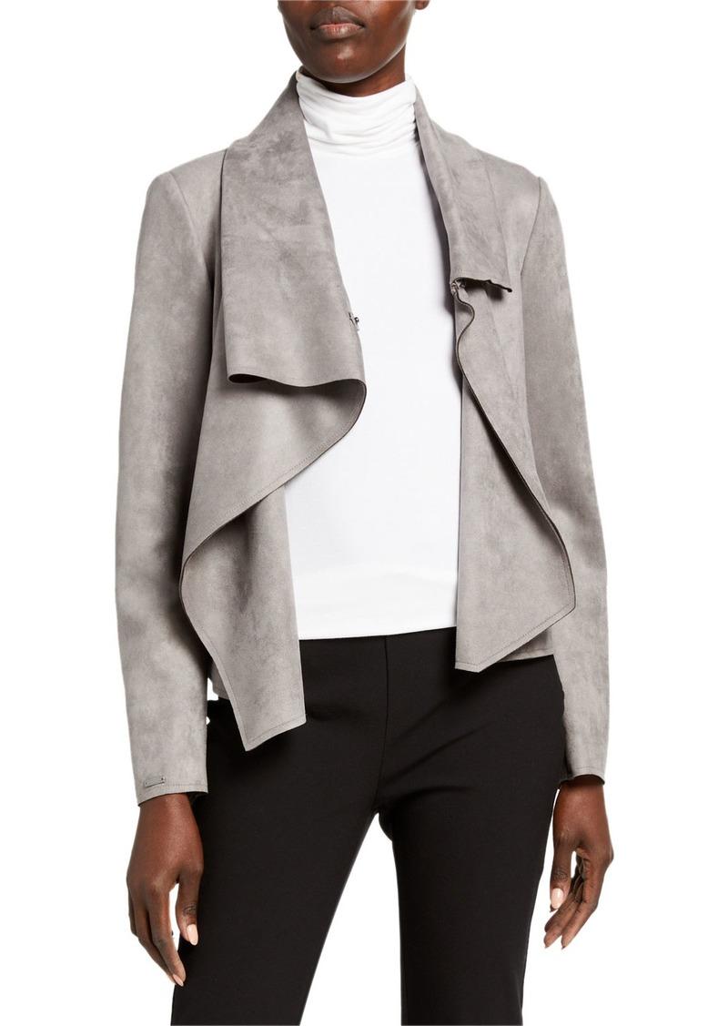 Anne Klein Asymmetric Front Jacket