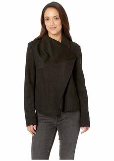 Anne Klein Asymmetrical Front Jacket