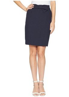Anne Klein Bow Pencil Skirt