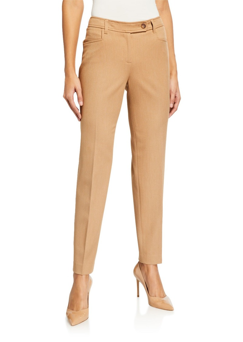 Anne Klein Bowie Twill Extended Tab Pants