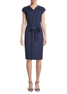 Anne Klein Cap-Sleeve Shirtdress