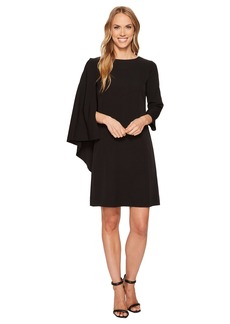 Anne Klein Cape Sheath Dress