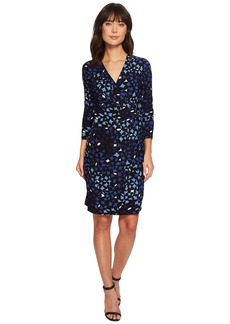 Anne Klein Carousel Leo Wrap Dress