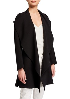 Anne Klein Cascading Front Topper Jacket