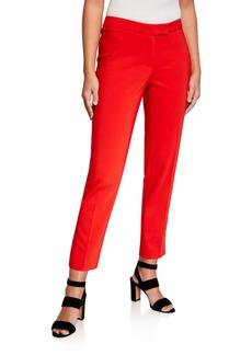 Anne Klein Cotton Double Weave Bowie Pants