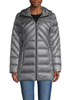 Saks Fifth Avenue Down-Filled Packable Hooded Jacket