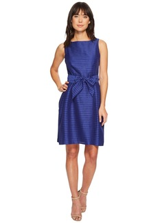 Anne Klein Fit & Flare with Sash Dress