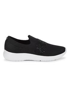 Anne Klein Lia Embellished Slip-On Sneakers