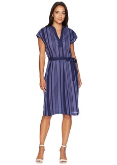 Anne Klein Mandarin Collar Dress