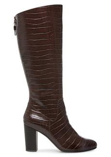Anne Klein Nastya Textured Tall Boots
