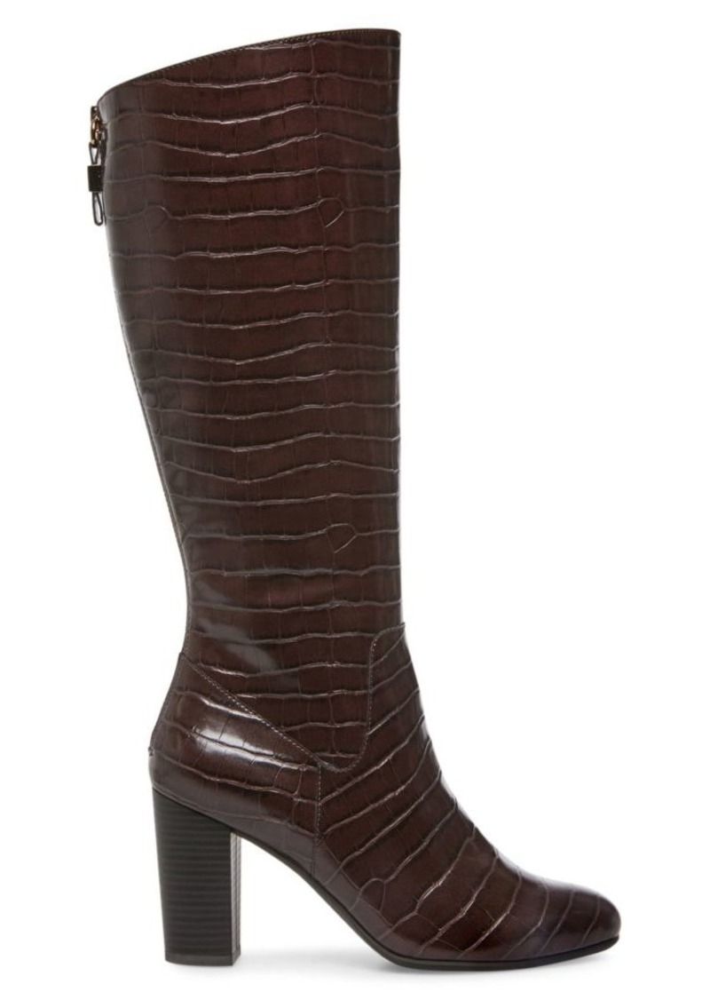 Anne Klein Nastya Textured Tall Boots