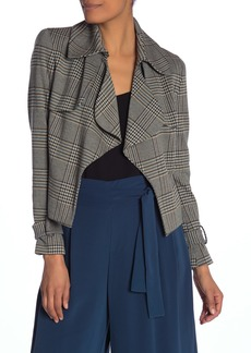 Anne Klein Plaid Jacket