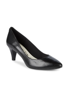Anne Klein Rosalie Leather Pumps