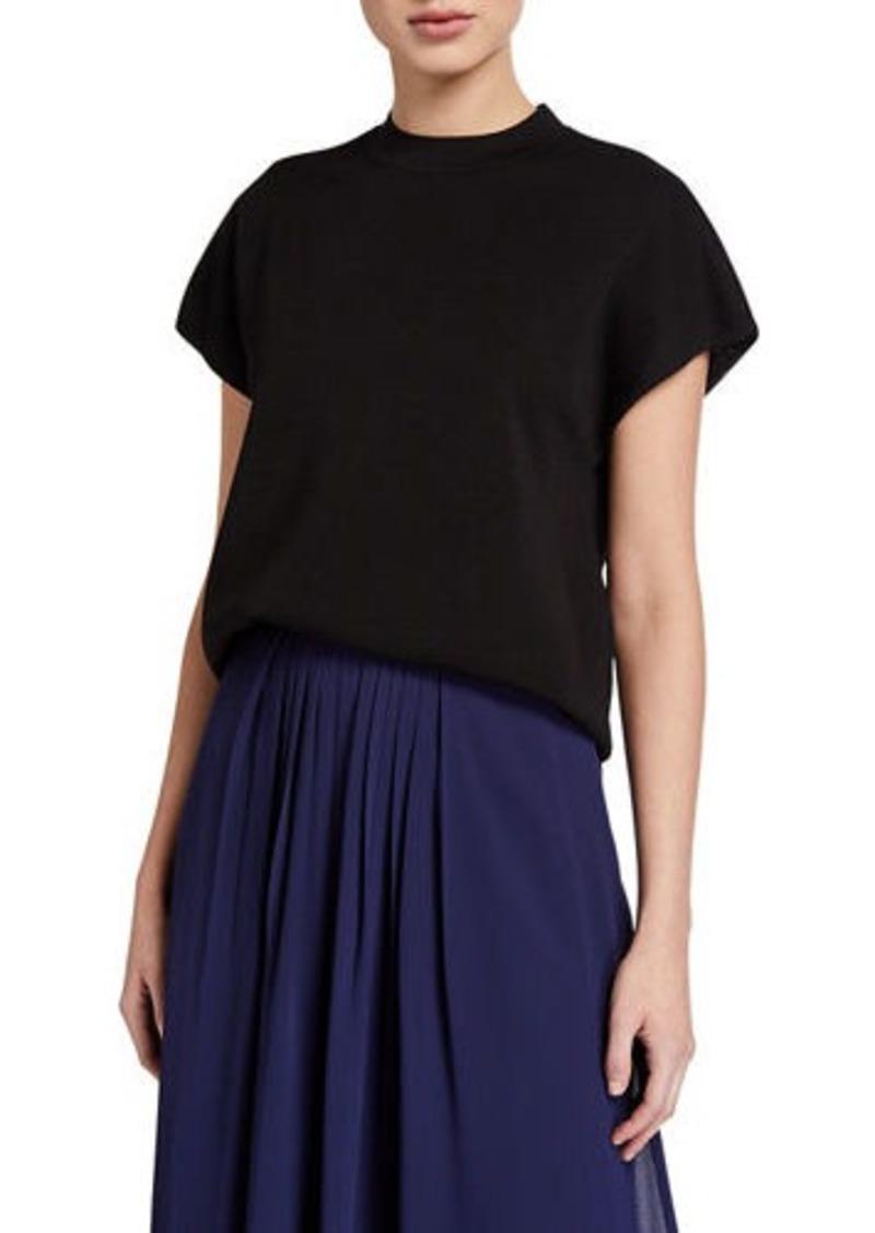 Anne Klein Short-Sleeve Sweater