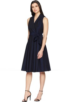 Anne Klein Soft Denim Fit and Flare Dress