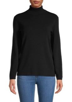 Anne Klein Turtleneck Long Sleeve Top